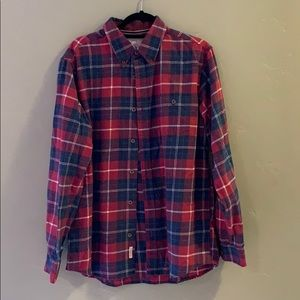 Weatherproof Men's long-sleeved flannel shirt